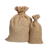 Two bags from a sacking Royalty Free Stock Photos