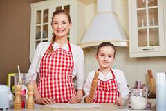 Two bakers Royalty Free Stock Images
