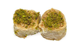 Two baklavas 1 Stock Images