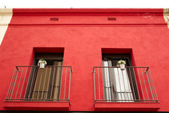 Two balconies. Stock Photography