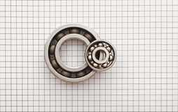 Two ball bearings Stock Image