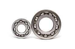 Two ball-bearings Stock Photos