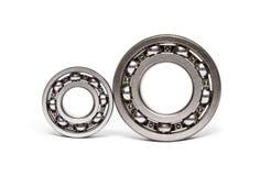 Two ball-bearings stock photos