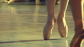 Two Ballet Dancers stock footage