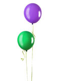 Two balloons Stock Image