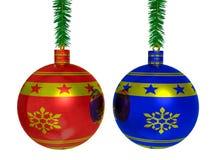 Two balls Stock Image