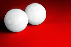 Two balls. Stock Images