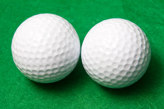 Two balls Royalty Free Stock Photo
