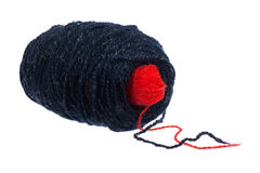 Two balls of yarn Stock Photo