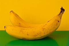 Two bananas Royalty Free Stock Photography