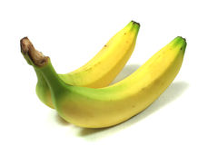 Two bananas Royalty Free Stock Images