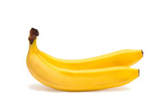 Two bananas Stock Photo