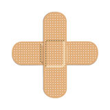 Two bandages icon image. Vector illustration design Stock Image
