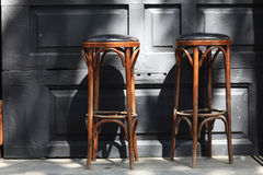 Two bar stools Royalty Free Stock Image
