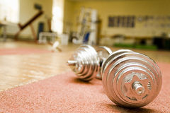 Two barbells Royalty Free Stock Photography