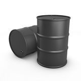 Two barrels Stock Photo