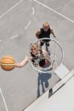 Two basketball players Royalty Free Stock Images