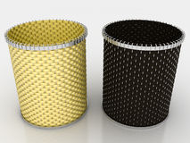 Two baskets �2 Stock Images