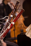 Two bassoon closeup Stock Photos