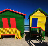 Two bathing Boxes Royalty Free Stock Photo