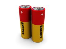 Two battery Stock Photography