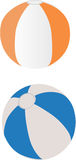 Two Beach Balls Stock Photo