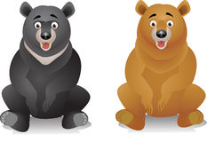 Two bear Royalty Free Stock Image