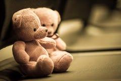 Two Bear dolls Stock Image
