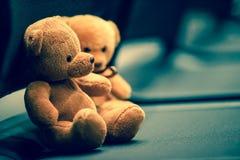 Two Bear dolls Royalty Free Stock Photos