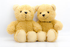 Two  bear toy Stock Photo