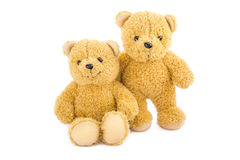 Two bear toys Royalty Free Stock Images