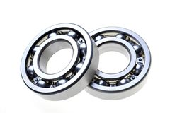 Two bearings. On a white background royalty free stock photo