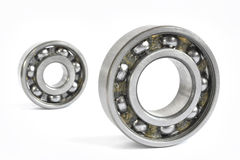 Two bearings. On the white background royalty free stock images