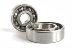 Two bearings. On the white background royalty free stock photos