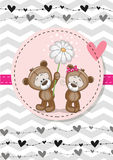 Two bears Stock Images