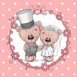 Two bears Royalty Free Stock Photography
