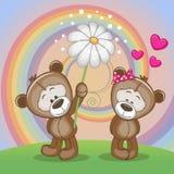 Two Bears Stock Image