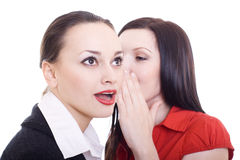 Two beautful women Royalty Free Stock Image