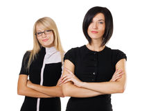 Two beautiful businesswoman Stock Photography
