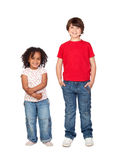 Two beautiful children Stock Image