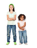 Two beautiful children Stock Photo
