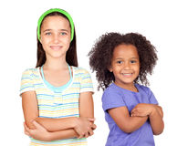 Two beautiful children Royalty Free Stock Photos