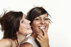 Two beautiful girl Stock Photo