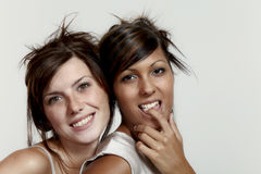 Two beautiful girl Royalty Free Stock Photography