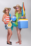 Two beautiful  girls Royalty Free Stock Photography