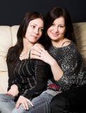 Two beautiful girls Stock Image
