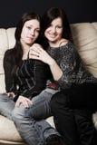 Two beautiful girls Royalty Free Stock Image