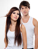 Two beautiful lovers Royalty Free Stock Image