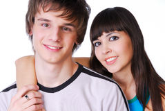 Two beautiful person Royalty Free Stock Photography