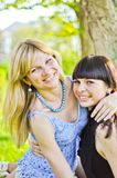 Two beautiful sisters Royalty Free Stock Photo